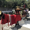 相浜神社は「波除丸」という船型山車がある。安房神社例大祭浜降神事「磯出」にも出祭した由緒ある神社です。