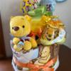 【ベビーグッズ】出産祝いのおむつケーキ『くまのプーさん』
