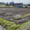 田植え前の最後の耕起です