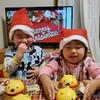 クリスマスケーキと孫