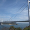来島海峡を望む展望館
