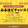 【m3.com】期間限定キャンペーン みるほどチャンス!amazonギフト券があたる