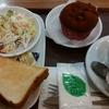 HOKUO「モーニングセット 厚切りトーストセット」「プレミアムチョコマフィン」