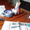 「居酒屋福」で「豚キムチラーメンセット」(醤油ラーメン) 700円