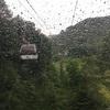 雨天の日光白根山