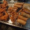 幸運な病のレシピ( 945 )夜:手羽唐揚げ、春巻き(ビーフン)、ヤゲン軟骨揚げ、ししゃも、酒飲んで蕎麦食っちまった!