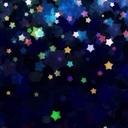夜空に浮かんだ星を目掛けて