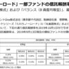 楽天証券のiDeCoでたわらノーロード先進国株式を仕方なく買っていたので、信託報酬が0.2%→0.0999%になったのは凄く嬉しい
