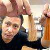 【エンシェールズカラーバター】マンゴーオレンジでブリーチなしの茶髪に染めてみた