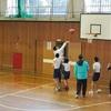 卒業試合 バスケットボール部