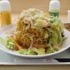 リンガーハット『野菜たっぷり皿うどん』、めん増量に挑戦してみた^^