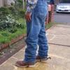 乗馬用のジーンズ