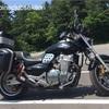 消音器交換予定/オートバイ      〜くろがねの排気管から合わせがねへ〜
