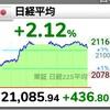 株式は大幅反発、でもまた下がりそう…