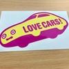 LOVE CARS! TV!でステッカー貰いました。[自動車ジャーナリスト河口まなぶ氏のyoutubeチャンネル]