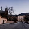プラハ城の夜景でも見に