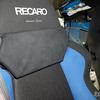 新TOYOTA86  レカロシートの硬くて身長の低い女性が乗ると頭をぶつけるガードを作る!