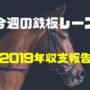 【今週の鉄板レース】2019年の収支報告