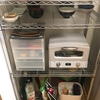できるだけ家具を買わずに、オーブントースターを収納する方法を考えた