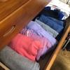 服もタオルも、畳んで立てる!こんまり式を参考にすっきりさせた、私のタンス整理法。