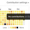 【ジョーク】 GitHubで草を偽造する
