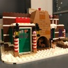 LEGO ジンジャーブレッドハウス作成中