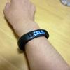 NIKEから発売されているFuelBandというアイテムを買った。
