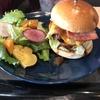 豊岡市出石町のAKカフェ でハンバーガー食べてきました。