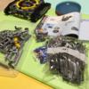 【組み立て中】レゴ テクニック「42055バケット掘削機」、まだまだ先は長そうです。