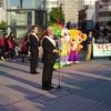 「あいさつ・声かけ運動」強調月間街頭キャンペーンを開催しました。
