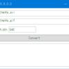 動画ファイルをアニメーションGIFに変換するGUIツール「movie2gif」