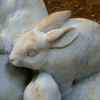 谷中から上野公園へ-4- 自由の女神とウサギたち