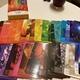 カラーセラピーをするためにカラーカードを買いました。