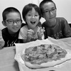 紅白戦とピザ