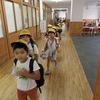 1年生:雨の日の下校