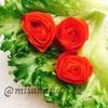 【動画有】トマトの皮でお花(トマトローズ)