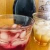 季節のモノ 紫蘇ジュースとジンジャーシロップ