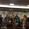 12月16日  横浜市泉区  老人ホーム アズハイム  クリスマスコンサートで演奏しました