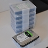 100均のはがきケースで外付けHDDを収納(片付け・HDD・100均)