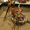 福地温泉 湯元長座 囲炉裏での夕食&朝食