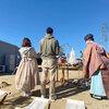 「足元を見つめる家」地鎮祭