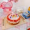 簡単!アメリカで1歳の赤ちゃんの誕生日ケーキを手作り♡作り方|離乳食レシピ