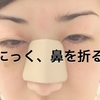 【閲覧注意】にっく、鼻を折る。