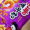 【韓国】「깐풍새우깡(Snack Korean Shrimp Crackers)」を食べました