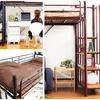 ロフトベッド・階段付き ロフトベット *一人暮らし家具おすすめ!