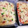 我が家のピザは丸○ではなく四角□