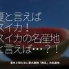 1022食目「夏と言えばスイカ!スイカの名産地と言えば・・・!?」意外と知らない夏の果物「西瓜」の名産地