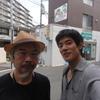 中島歩さんと久しぶりに会う