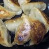 カブの葉と豚肉の焼き餃子
