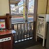 安土駅の白ポスト